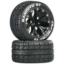 Bandito ST 2.8 inch Truck 2WD Mounted Front C2 Black (2)