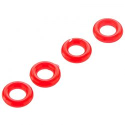O-Ring P-3 3.5x1.9mm Red (4)