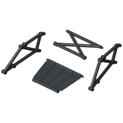 Rear Bumper Frame Set