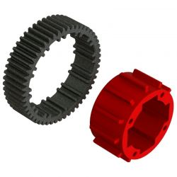 Aluminum Center Diff Case Set 1 Diff