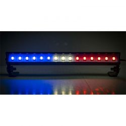 LED Light Bar - 5.6 - Police Lights (Red White and Blue Light