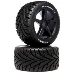 1/8 THRUSH Truggy Tire C2 Mounted 0 Offset 2