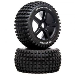 1/8 BLINDER Truggy Tire C2 Mounted 0 Offset 2