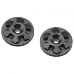 RM2 Clover large flange 1:8 wing buttons-black 2