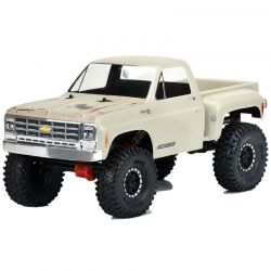 1978 Chevy K-10 for 12.3 WB Scale Crawlers Clear