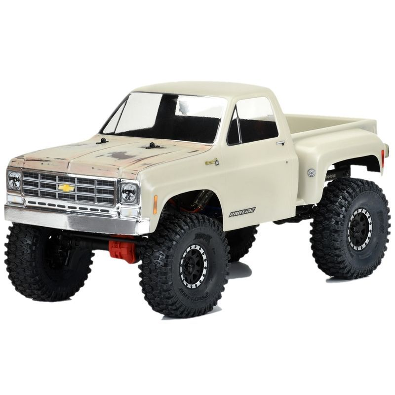 Pro-Line 1978 Chevy K-10 for 12.3 WB Scale Crawlers Clear [3522-00]