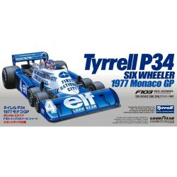 1/10 XB Tyrrell P34 Six Wheeler 1977 Monaco GP (without R/C)