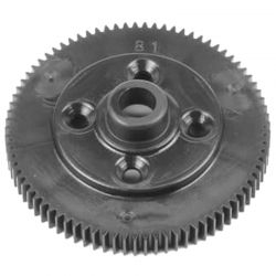 Spur Gear 81t 48pitch black EB410.2