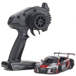 Mini-Z Rwd Audi R8 Lms 2016 Gray/Red Mr-03 Readyset