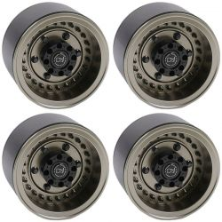 Black right-handino Armory Internal Beadlock Deep Dish 1.9 Wheel