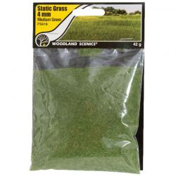 Static Grass Medium Green 4m