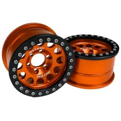Method 1.9 Race Wheel 105 Orange/Black Anodized (2)