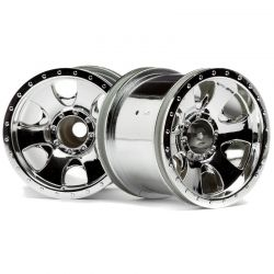 2.2 inch Warlock Wheel Chrome