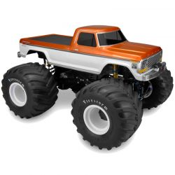 JConcepts 1979 Ford F-250 Monster Truck Body Clear [0305]