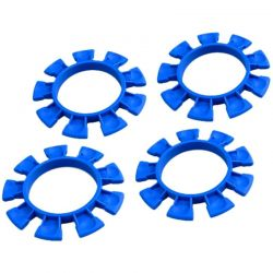 JConcepts Satellite Tires Gluing Rubber Bands Blue Compound (4) [2212-1]