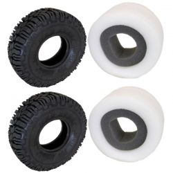 Mad Beast Scale 1.9 Tires with 2 Stage Foam pair