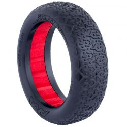 Buggy EVO Typo 2WD Front Ultra Soft w/Red Insert
