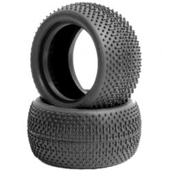 JConcepts Flip Outs 2.2 inch Buggy Rear Tire Green (2) [3038-02]