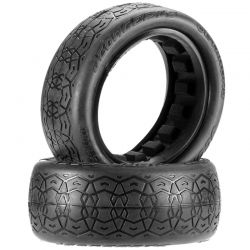 JCO3144-07 Octagons 2.2 4WD Buggy Front Tire Black (2)