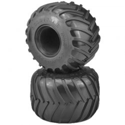 JConcepts Golden Years Monster Truck Tire Blue (Soft) Compound for 2.6x3.6 [3183-01]