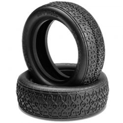 Dirt Webs 2.2 Inch 2wd Front Tires Green (2)