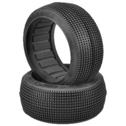 Blocker Tires - green compound 1/8 Buggy Tires