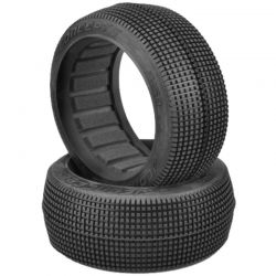 Blockers Aqua (A2) Compound Tires fits 83mm 1/8th Buggy Wheel
