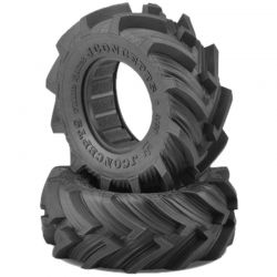 Fling King Green Compound Tires (2) for SCT 3.0x2.2 Wheel