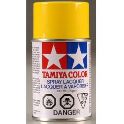 PS-6 Yellow Polycarbonate Spray Paint 100mL
