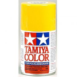 PS-19 Camel Yellow Polycarbonate Spray Paint 100mL