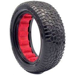 1:10 Buggy 2WD Front Scribble 2.2 Clay -Red Insert