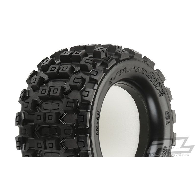 Pro-Line 1/10 Badlands MX28 2.8 inch All Terrain Truck Tires for Traxxas [10125-00]