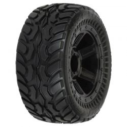 Dirt Hawg I Off-Road Mounted Tires 1/16 (2)