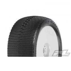 Hole Shot VTR 4.0 inch X3 Off-Rd 1/8 Tires Mounted White - pair