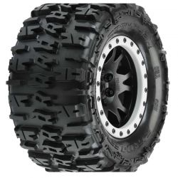Trencher 4.3 Pro-Loc All Terrain Tires (2) Mounted for X-Maxx