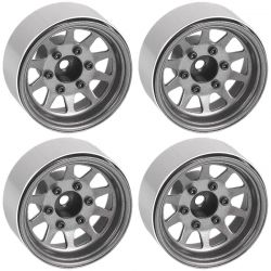 OEM 6-Lug Stamped Steel 1.55 Beadlock Wheels (Plain)