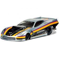 Chevrolet Corvette C7 Pro-Mod Clear Body-Slash 2WD