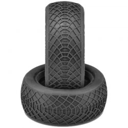 Ellipse Aqua A2 Compound Tires Fits 2.2 Buggy 4WD Front Wheel