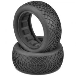 Ellipse Gold Compound Tires Fits 2.2 Buggy 4WD Front Wheel