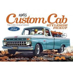 1/25 1965 Ford Custom Cab Styleside Pickup Model Kit
