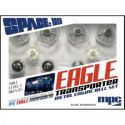 1/72 Space1999 Eagle Metal Engine Bell Set