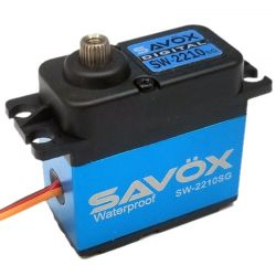 Waterproof Premium brushless Digital Servo 0.11sec / 500oz @ 7.4