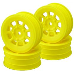 9 shot 2.2 front wheel yellow - 4pc