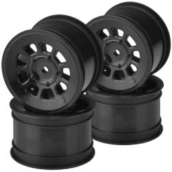 9 shot 2.2 rear wheel black - 4pc