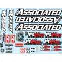 RC10B6.2 decal sheet