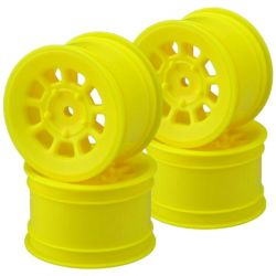 9 shot 2.2 rear wheel yellow - 4pc