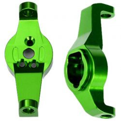 Caster Blocks - 6061-T6 Aluminum (Green-Anodized) - Left and Rig