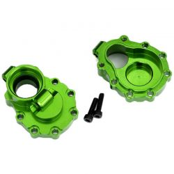 Portal Housings - Inner (Rear) - 6061-T6 Aluminum (Green-Anodize