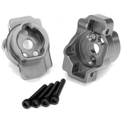 Portal Drive Axle Mount - Rear - 6061-T6 Aluminum (Charcoal Gray