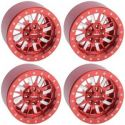 Enforcer 1.9 Beadlock Wheels (Red)
